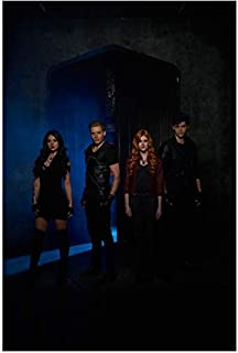 Shadowhunters: The Moral Instruments Cast Group Shot Standing Looking Sexy and Fierce Vertical Shot 8 x 10 Inch Photo