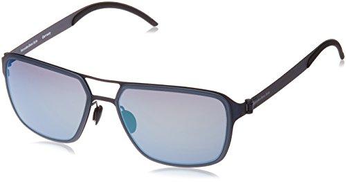Mercedes-Benz Sonnenbrille M5031 Aviator Sonnenbrille 58, Blau