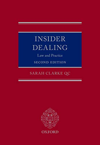 Insider Dealing: Law and Practice (English Edition)