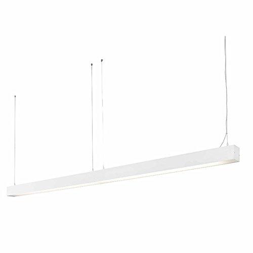 Ore 040403701 projecteur Barcelona-Pendentif (Ampoule fournie) LED 18W aluminium injecté Blanc