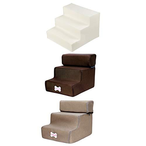 Yowablo Neue 3-Stufen-Mesh-Pet-Kombination mit Rutschfester Unterseite und Leiterabdeckung (Falte Größe:30 * 35 * 30cm,2E)