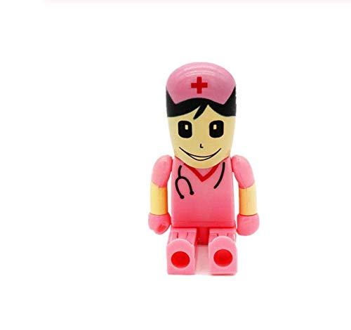 Unidad Flash USB Enfermera Capacidad Real 32 GB Pen Drive almacenar Datos/Musica/Fotos necesarios liberando teléfono.de CHPYHOME