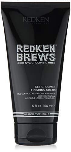 Redken Brews Finishing Cream For Men, Light Hold Natural Looking Finish 5.1 fl. oz