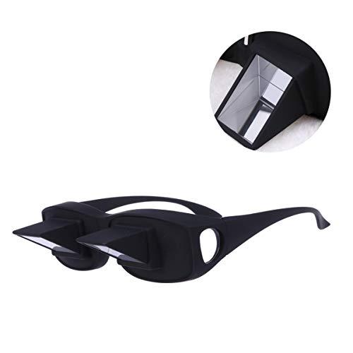 EXCEART Óculos Preguiçosos Deitados Horizontais Na Cama Lendo Assistindo Óculos de Prisma de Alta Definição Óculos de Prisma