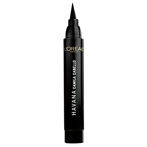 L'Oreal Paris Cosmetics X Camila Cabello Havana Flash Liner Liquid Eyeliner, Black, 0.08 Fluid Ounce