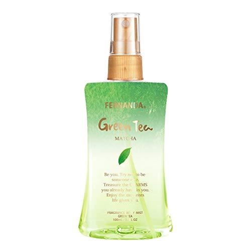 FERNANDA(フェルナンダ) Body Mist Green Tea (ボディミスト グリーンティー) 100ml