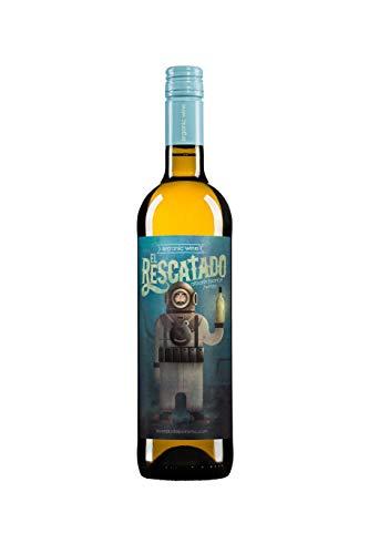 Vino Blanco ECOLÓGICO - Leyenda del Páramo - El Rescatado - Vino Premiado - Caja de 1 botella de 75 cl. - Envio en caja protectora de alta resistencia para un transporte 100% seguro