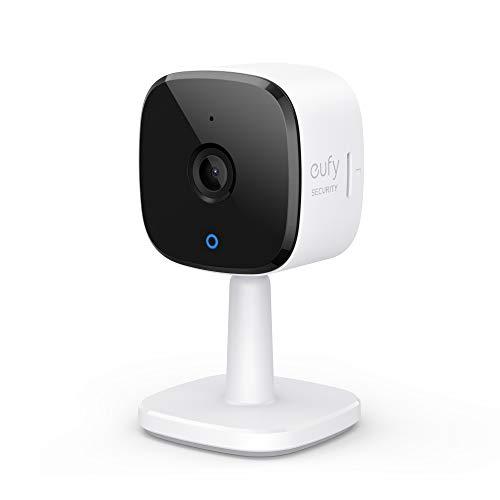Anker Eufy IndoorCam 2K(屋内カメラ)ネットワークカメラ ベビーモニター ペット見守り 音声アシスタント ナイトビジョン