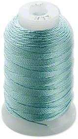 Simply Silk Finally resale start Beading Thread Cord Size 0. Pale 0.0128 Green E Inch OFFer