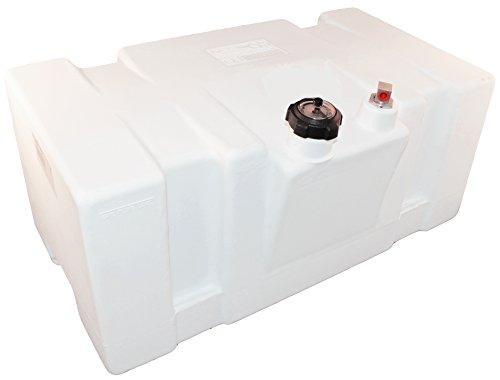 Moeller Marine 031626, Topside Fuel Tank, 22 Gallon, 83 Liter, White