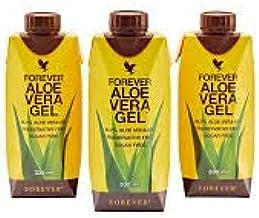 Forever Living Aloe Vera Gel, 300ml Pack of 3