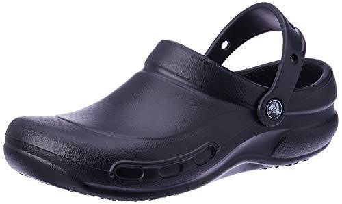 Crocs Bistro, Unisex - Erwachsene Clogs, Schwarz (Black), 41/42 EU