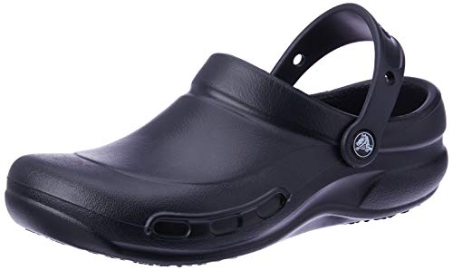Crocs Bistro, Zuecos Unisex Adulto, Negro (Black), 37/38 EU