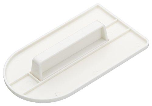 Kitchen Craft Alisador para Fondant, Blanco, 16 x 6 cm