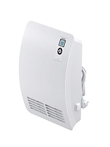 Stiebel Eltron CK20S - Stufa elettrica da parete per un riscaldamento veloce, 2kW, regolazione continua della temperatura, 71793, Bianco, CK 20 Premium 2000W