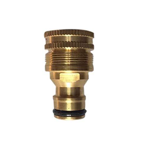 Leloo Lcuihong-Brass 1/2' Universal Water Garden Manguera del Adaptador de la Boquilla Fauce Montaje de Grifo Conectores, Fuerte y Robusto (Diameter : 1/2'')