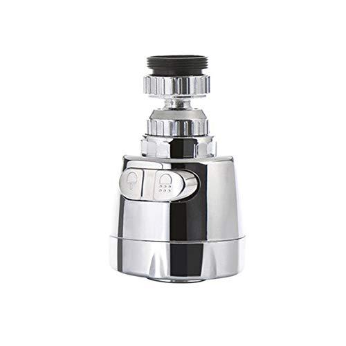 XCQ Durable 1 Stück Wasserhahn Edelstahl Splash-Proof Universal Wasserhahn Dusche Wasser drehbar Filter Sprayer Wasserhahn Düsenanschluss 0606