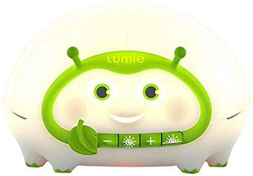 Lumie Bedbug - Low-blue Bedside Light with Sunset and Nightlight for Babies and Children