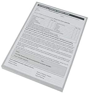 Tattoo Piercing Consent Form - 100 Sheet Pad (A5)