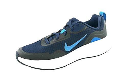 Nike WearAllDay, Scarpe da Ginnastica, Midnight Navy/Imperial Blue, 28 EU