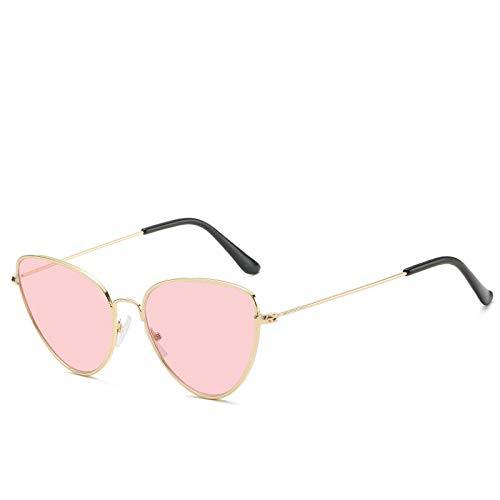 Gafas De Sol Gafas De Sol con Montura Metálica De Ojo De Gato Vintage para Mujer, Anteojos para Mujer, Anteojos De Diseñador De Lujo, Gafas 3