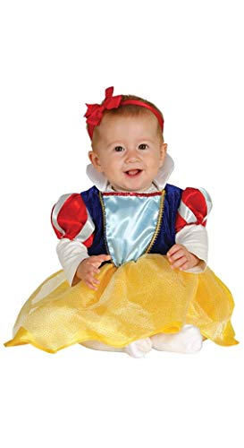 Guirca- Disfraz princesita baby, Talla 6-12 Meses (81090.0)