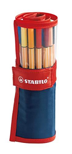 Rotulador puntafina STABILO point 88 - Estuche premium