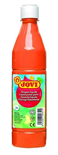 Jovi- Témpera líquida, Color naranja, 500 mililitros (06)