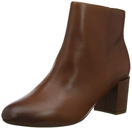 Rockport Total Motion Oaklee Plain Boot, Botines para Mujer, Beige (Bourbon 002), 39 EU