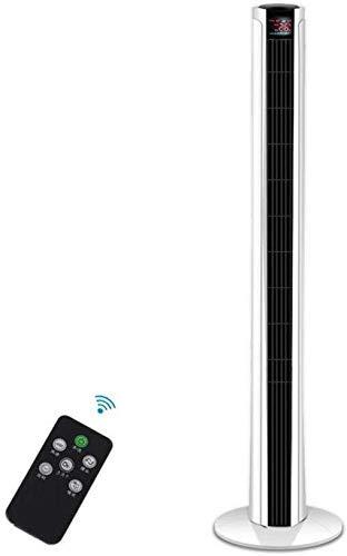 Ventilador de Torre de Control Remoto Temporizador de Cuenta Regresiva Ultra silencioso de Tres velocidades Oscilación 40W