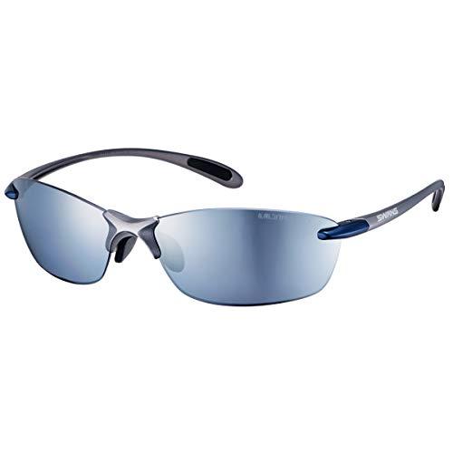 SWANS(スワンズ) 日本製 スポーツ サングラス エアレス リーフ フィット Airless Leaffit 偏光レンズ(フィッシング ゴルフ ウィーキング アウトドア 用) SALF-0767_BLGM 0767 BLGM マットガンメタリック×ダー
