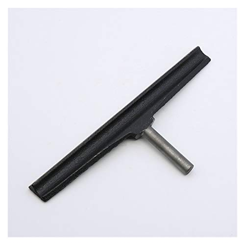 QWXZ Maschinenteile 11,8-Zoll-Gusseisen Holzverarbeitung Drehhandauflage Rundstab Handauflage zur Holzspindel Turner Werkzeug Rest for Drechselbank Qualitätsmaterial