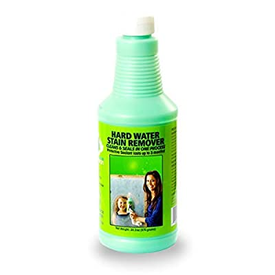 Bio Clean: Eco Friendly Hard Water Stain Remover (20oz Large)- Our Professional Cleaner Removes Tough Water Stains From Shower Doors, Windshields, Windows, Chrome, Tiles, Toilets, Granite, Steel e.c.t
