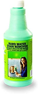 Bio Clean: Eco Friendly Hard Water Stain Remover (20oz Large)- Our Professional Cleaner Removes Tuff Water Stains From Sho...