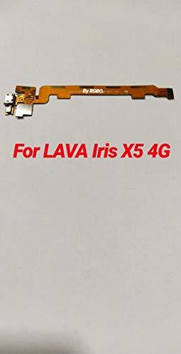 ROBO Charging Board Flex Cable Ribbon Connector Compatible for Lava iris x5 4g