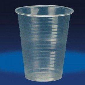 OMAC Bicchieri 166cc di PLASTICA Trasparenti Resistenti INFRANGIBILE Bar Acqua 100 PZ, 166 CC