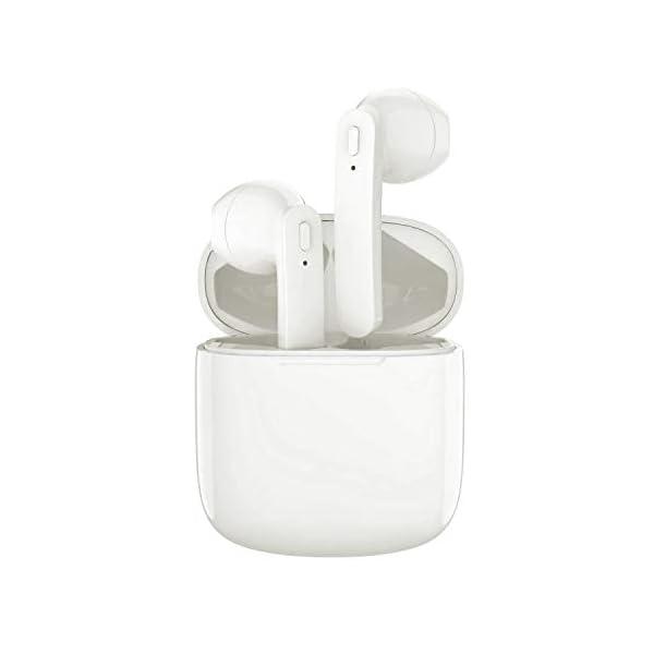 Bluetooth Earbuds, Bluetoooth 5.0 Headphones Wireless Earbuds 30H Cycle Playtime in-Ear Wireless Headphones Hi-Fi Stereo Sweatproof Earphones Sport Headsets Built-in Mic for Work/Running/Travel/Gym 3