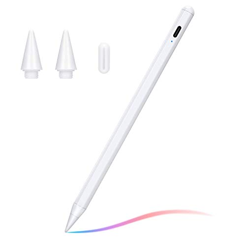 Stylus Pen Compatible with (2018-2020) Apple iPad, iPad Pencil with No Lag, High Precision, Tilt, Palm Rejection, for iPad 6th, iPad Mini 5th, iPad Air 3rd Gen, iPad Pro (11/12.9