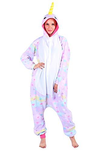 Landove Pijama Panda Adulto Unisex Trajes Animales Mono con Capucha