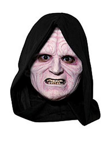 Star Wars TM Emperor Palpatine TM 3/4 Vinyl-Maske für Erwachsene