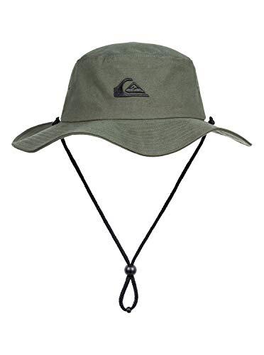 QUIKSILVER Men's Bushmaster Sun Protection HAT, Thyme, L/XL