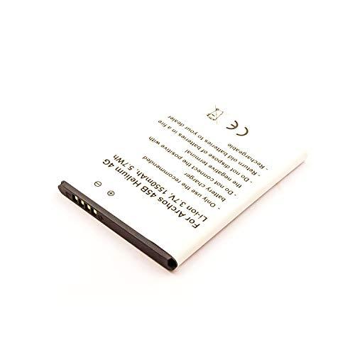 eVendix Akku kompatibel mit Archos 50C Neon 3,00 Volt 1550 mAh 4,65 Wh Li-Ion Akku
