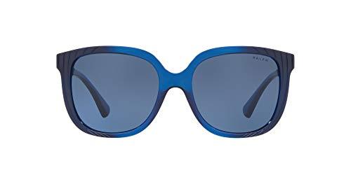 Ralph Lauren RALPH BY 0RA5257 Gafas de Sol, Blue Horizontal Dark Blue, 55 para Mujer