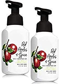 2 Bath and Body Works Red Apples & Spice Gentle Foaming Hand Soap