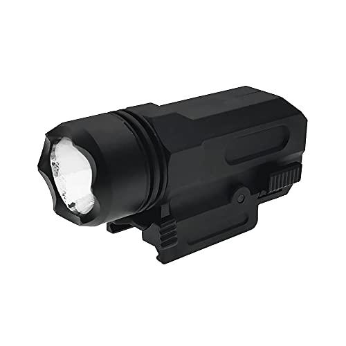 Ddartsgo Tactical Compact Weapon Light Pistol Torcia elettrica Picatinny Quick Weaver Mount Glock 17 18C 19 23 25 Beretta PX4 M9A1
