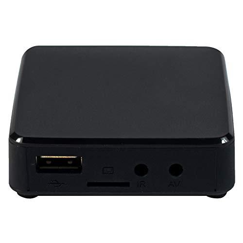 TVIP S-Box v.415se IPTV HEVC HD Linux Multimedia Player Internet TV IP 512MB RAM + 4GB Flash, MicroSD Card, EXT.IR, 2,4/5GHz WiFi