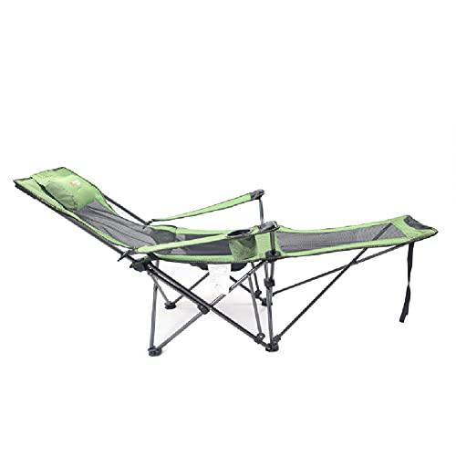 YNLRY Sdraio da Campeggio Pieghevole Portatile, Compatta Leggera Sedia per Campeggio Letto Portatile Leggero Ultraleggero per Alpinismo Pesca Giardino Campeggio Ufficio