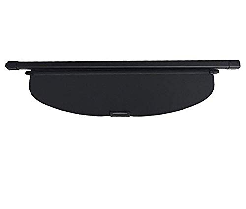 kaungka cargo cover for 2014-2017 Nissan Rogue SV 2018-2020 nissan rogue black retractable trunk shielding shade (not fit for Rogue Select)