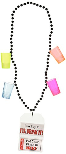 21st Birthday Party Beads Party Accessory (1 count) (1/Card)