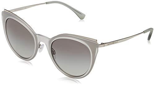 Emporio Armani 301511 Gafas de sol, Silver, 52 para Mujer
